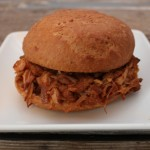 jackfruit bbq sandwich from In Johnna's Kitchen