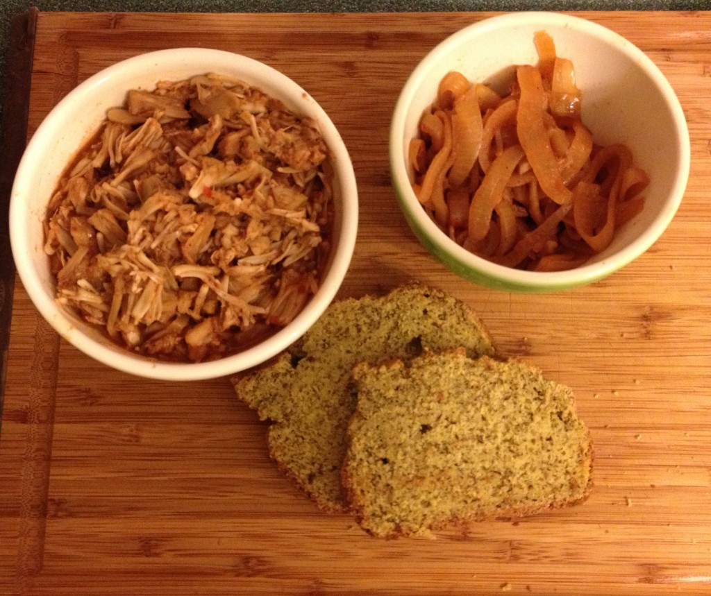 Carolina Style Jackfruit BBQ from In Johnna's Kitchen