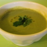 Creamy Cauliflower Kale Soup from In Johnna's Kitchen