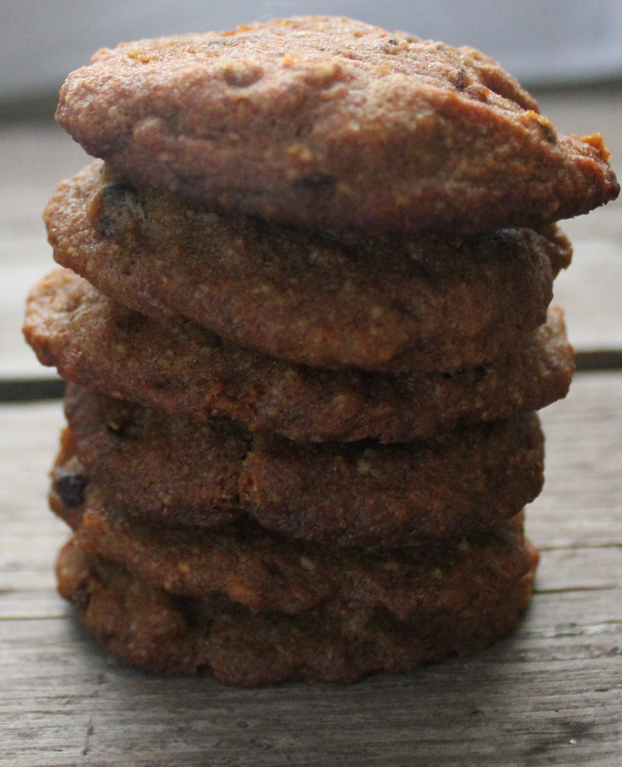Sweet Potato Chocolate Chunk Cookies, Gluten-Free, Dairy-Free
