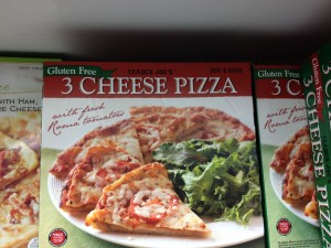 I Ate This:  Trader Joe's Gluten-Free Frozen Pizza