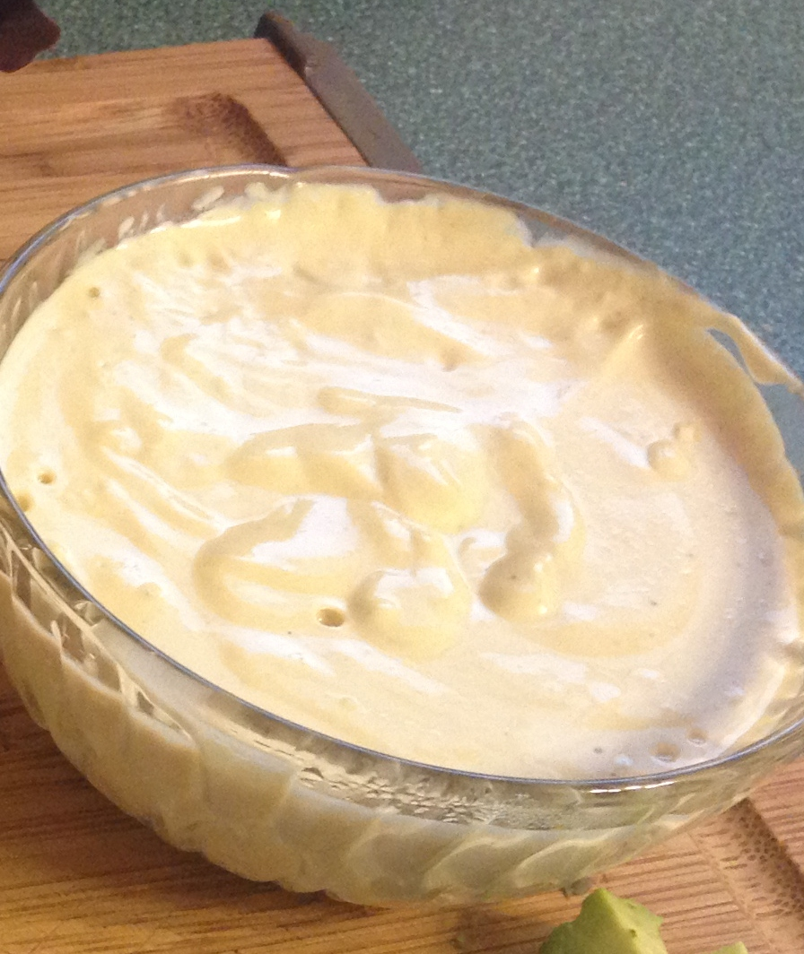 Spicy Orange Cashew Cream, gluten-free, dairy-free, vegan, raw