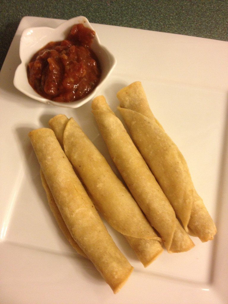 Starlite gluten-free, vegan taquitos