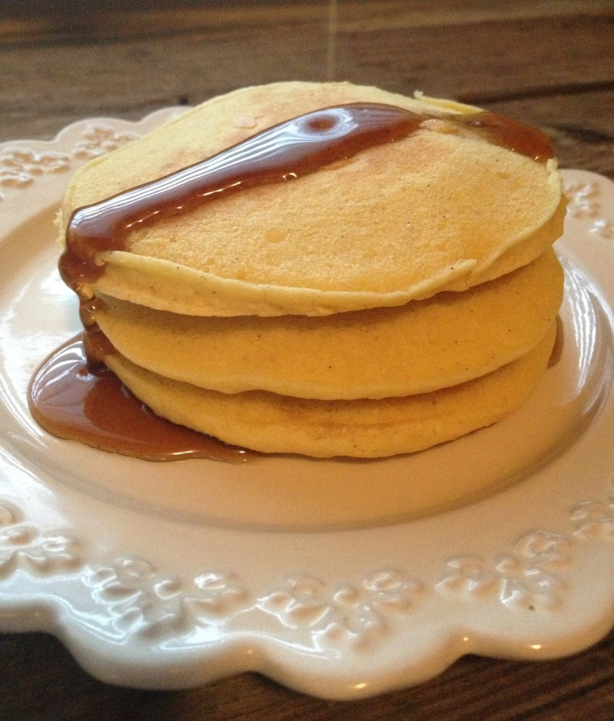 Lazy Morning Pancakes, Gluten-Free, from In Johnna's Kitchen