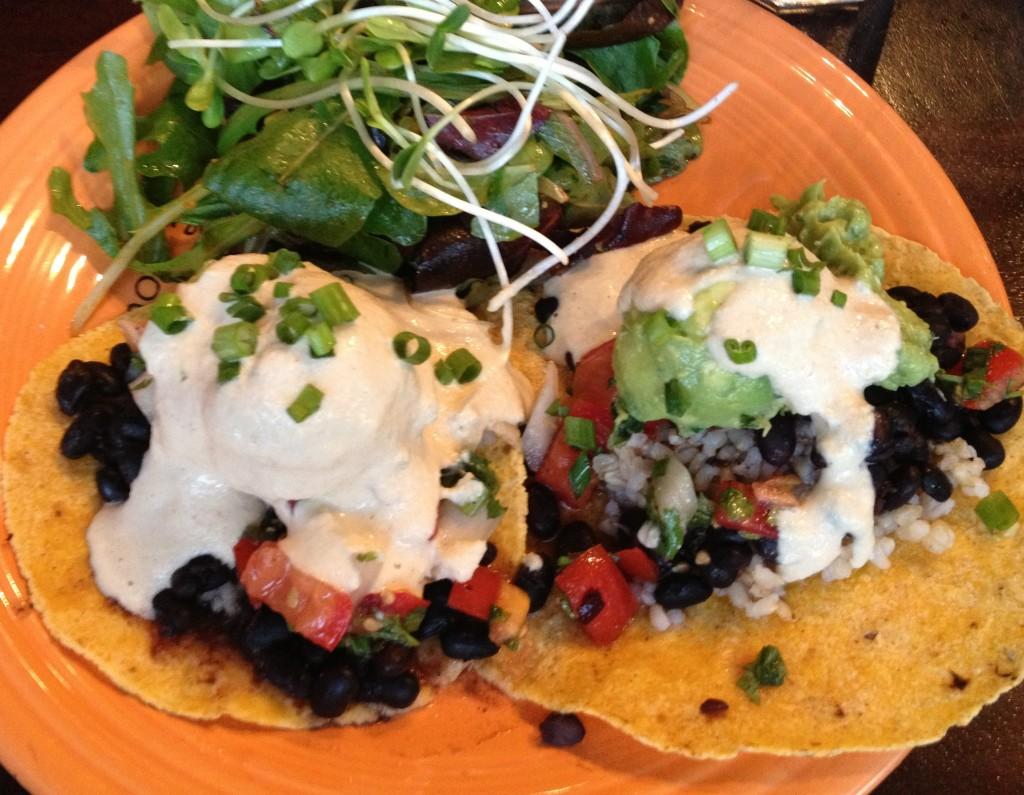 cafe gratitude kc tacos