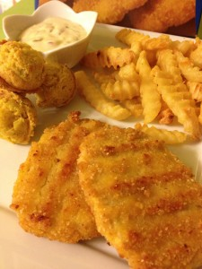 I Ate This:  Gluten-Free Breaded Vegan Fish Filets from Sophie's Kitchen
