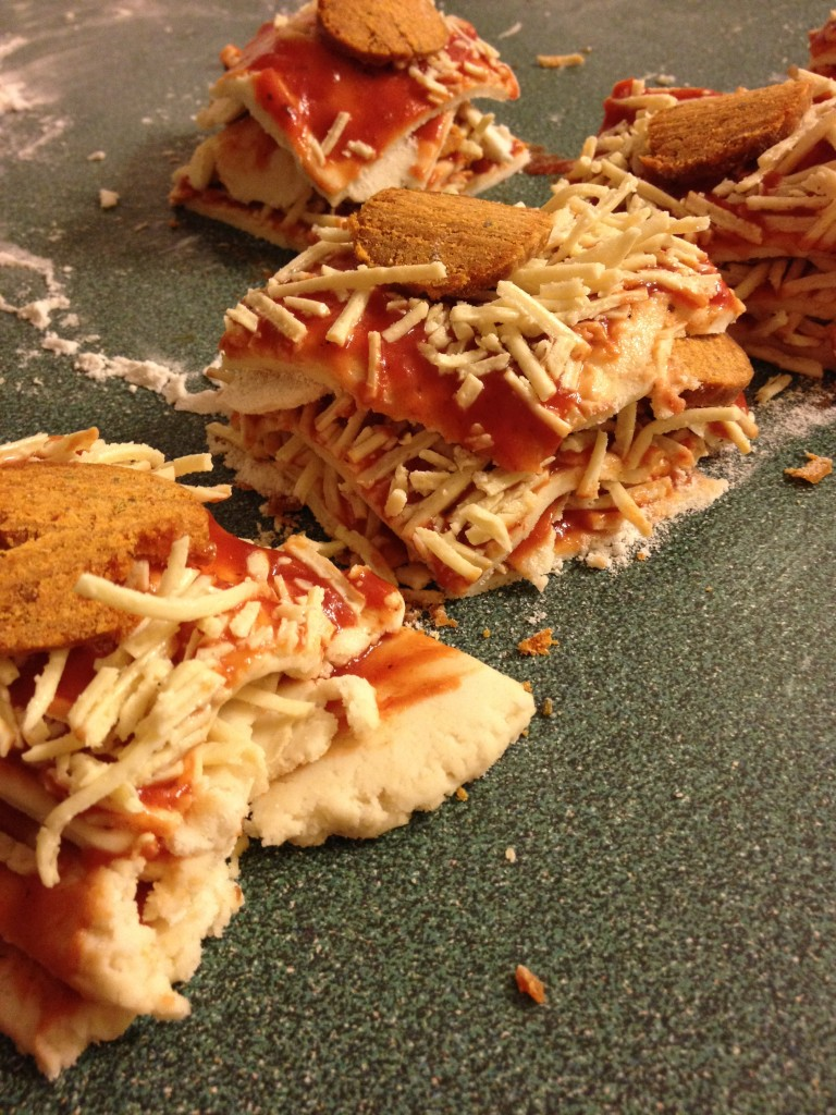 pullapart pizza stacks