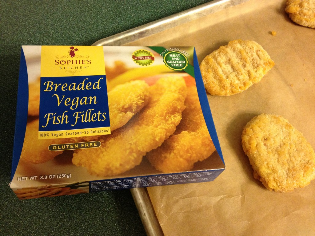 Sophies Kitchen Breaded Vegan Fish Fillets