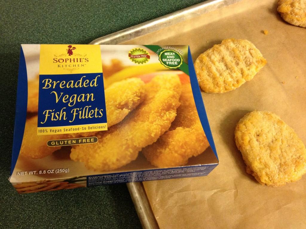 Sophies Kitchen Breaded Vegan Fish Fillets