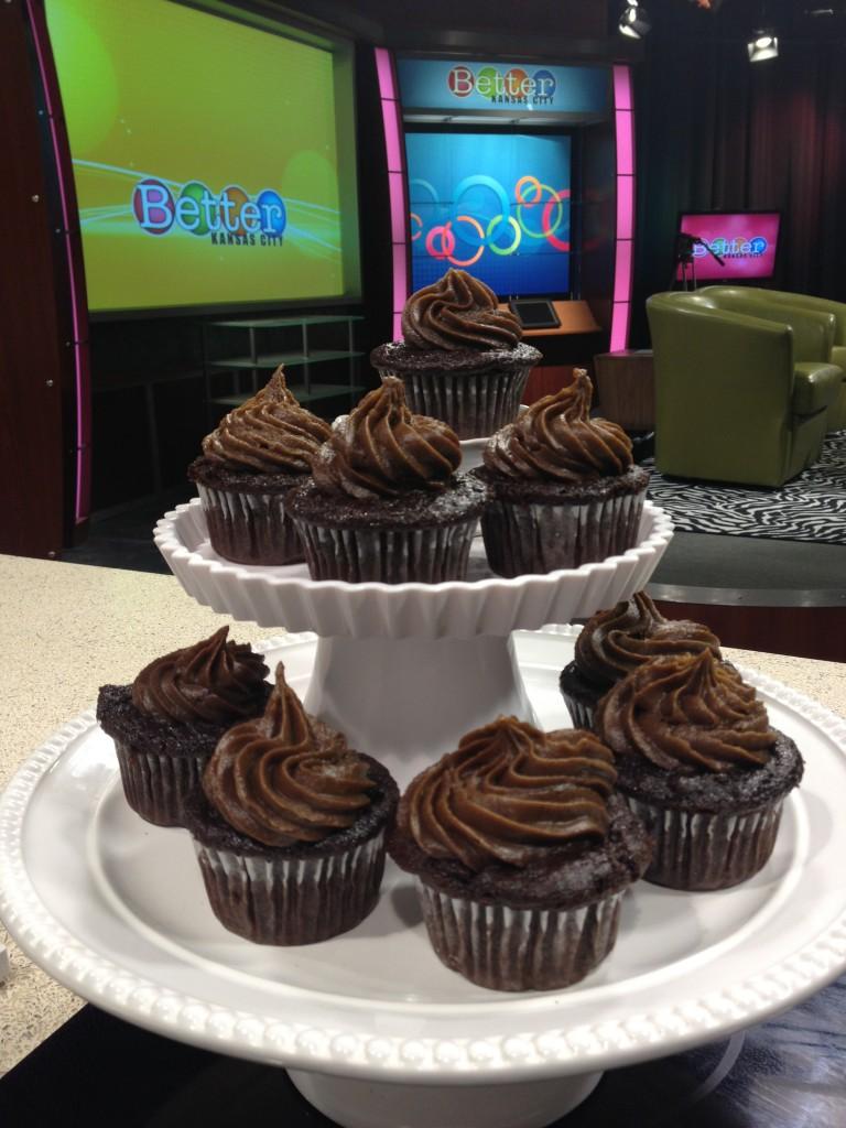 Johnna's Favorite Chocolate Cupcake with Chocomole Frosting