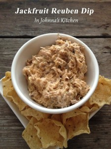 Gluten-free, Dairy-Free, Egg-Free Vegan Jackfruit Reuben Dip