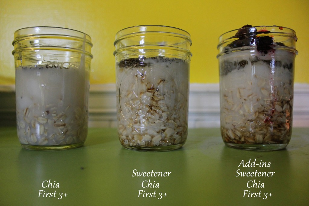 Overnight Oats, Gluten-Free and Dairy-Free