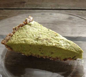 Pie for Pi Day, Mint Chocolate Chip Pie (raw, vegan, gluten-free, indulgent)