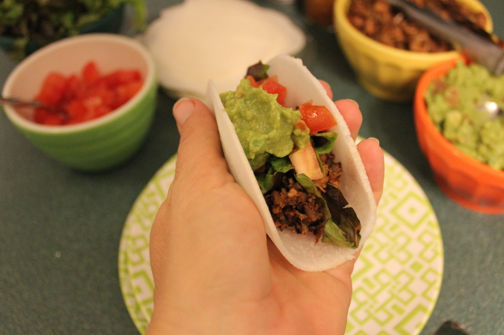 Crockpot Jackfruit Tacos from In Johnna's Kitchen