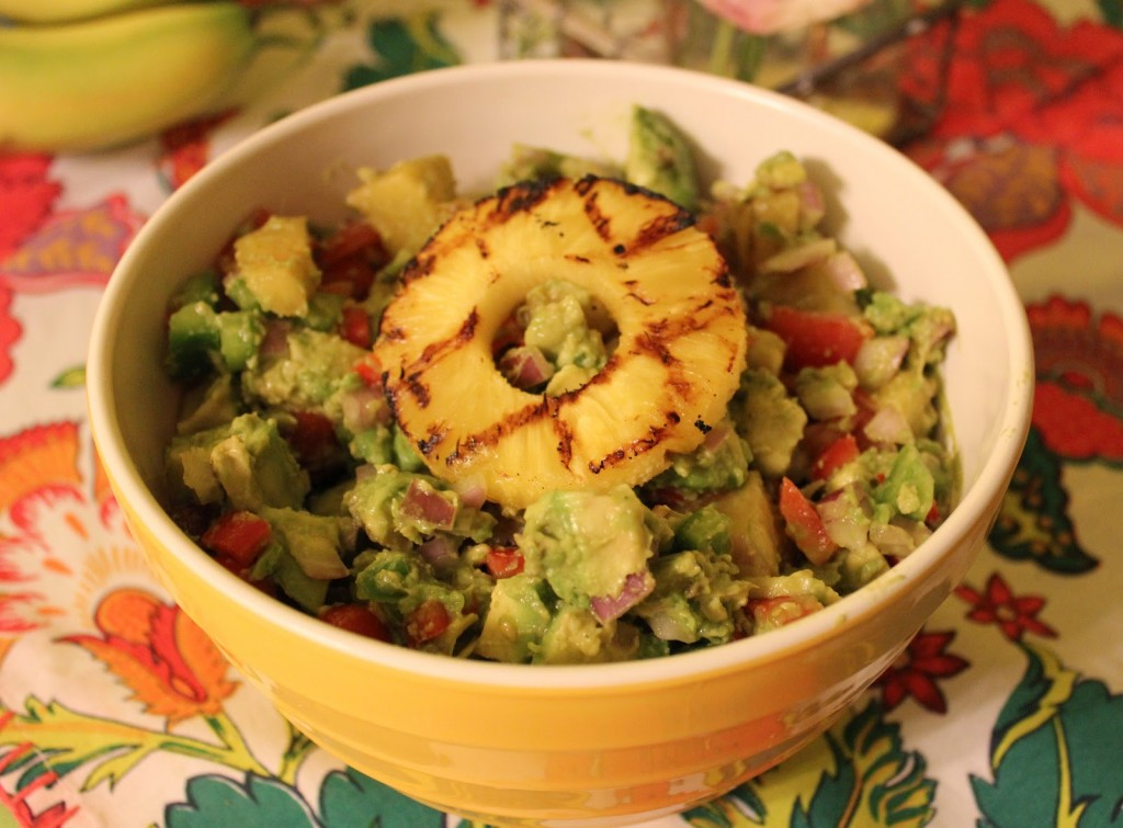 Grilled Pineapple Avocado Salad from In Johnna's Kitchen