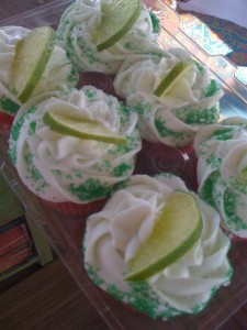 Sweet of the Week #8, Margarita Cupcakes with Sheila