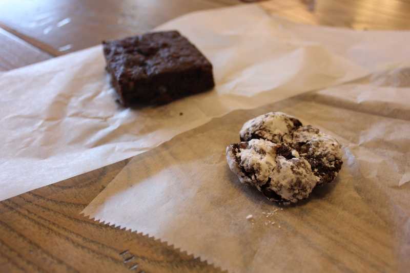 t loft cookie and brownie