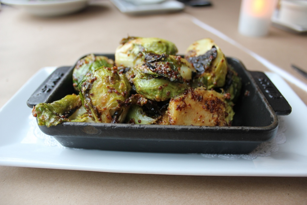 Brussels Sprouts at Karyn's on Green