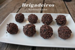 Decadent Chocolate Truffles, Brigadeiros, reinvented with healthy ingredients from In Johnna's Kitchen