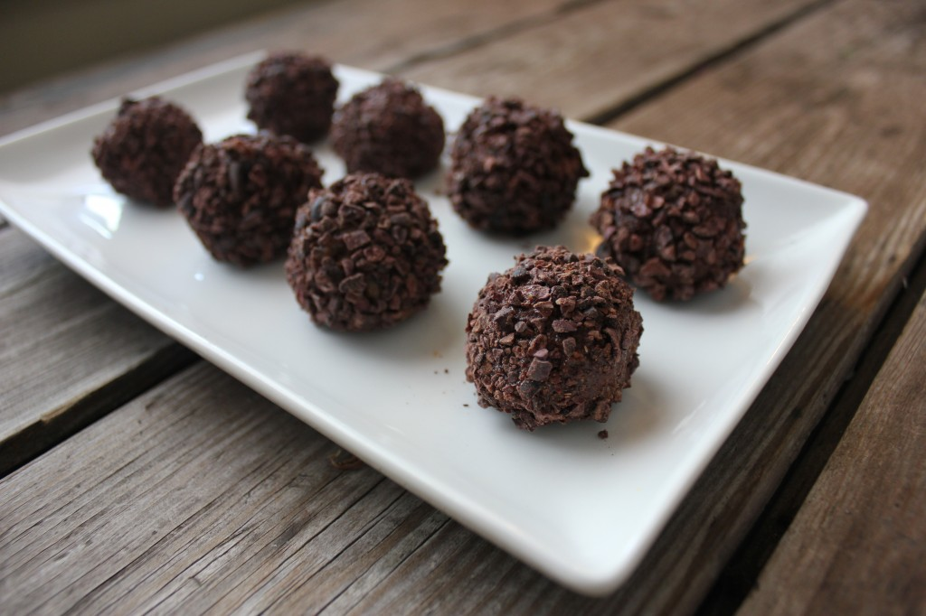 Brigadeiros, decant Brazilian chocolate truffles reinvented with healthy ingredients from In Johnna's Kitchen
