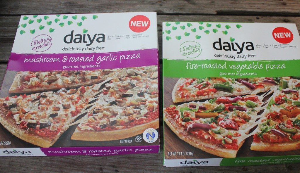 daiya frozen pizza box