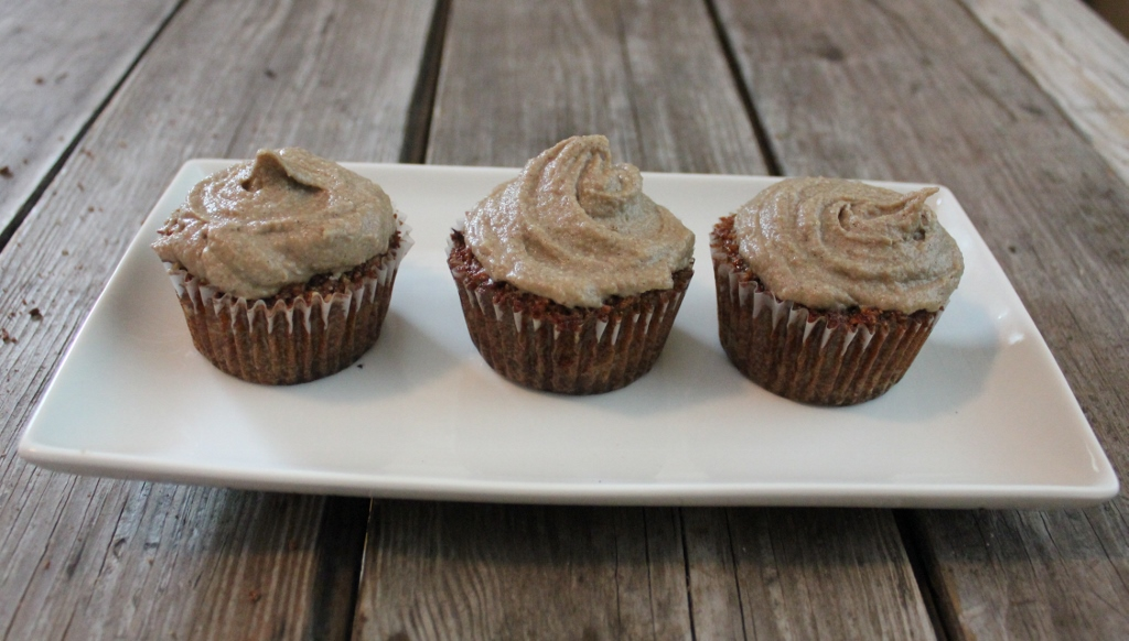 in johnnas kitchen carrot cake cupcakes with sunflower cream frosting