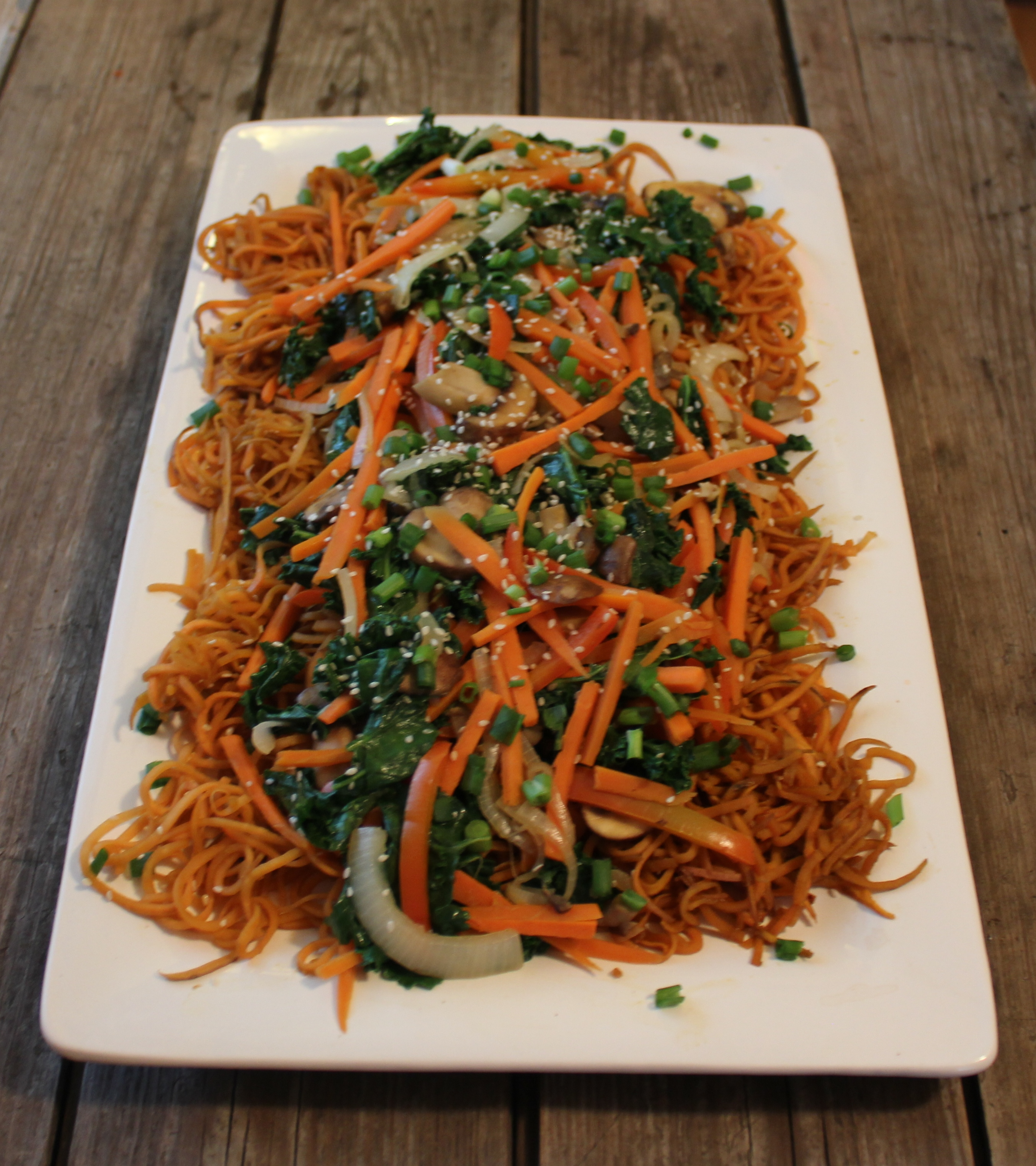 Johnna's Japchae, a new twist on a Korean favorite