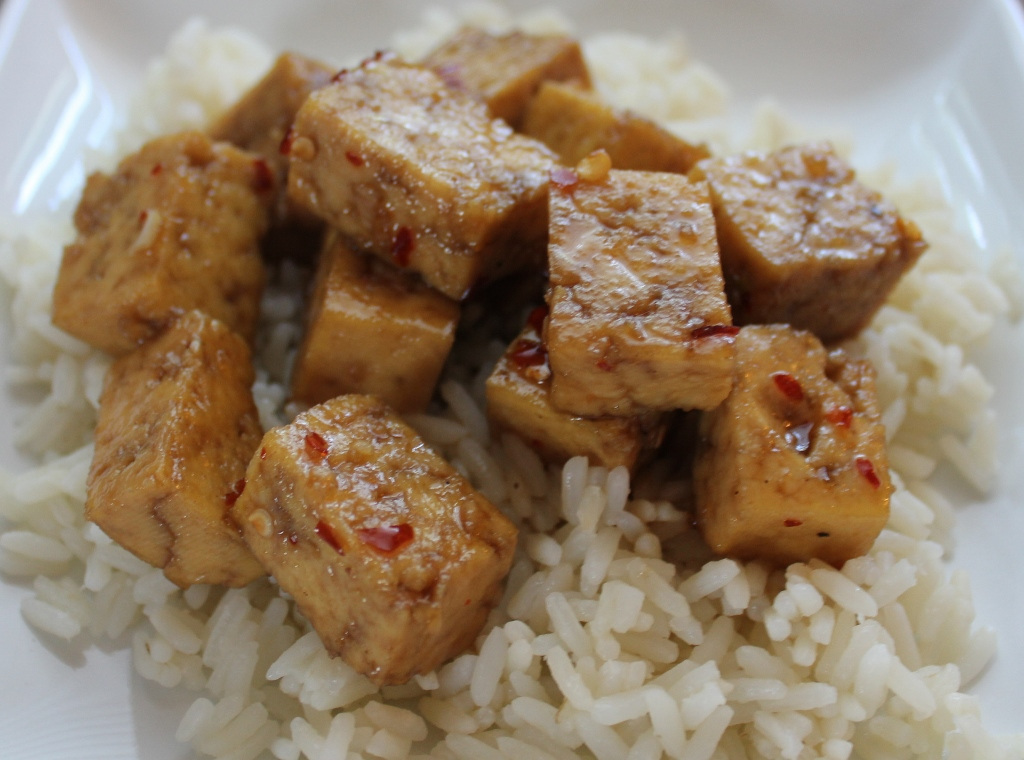 Maple Sesame Tofu