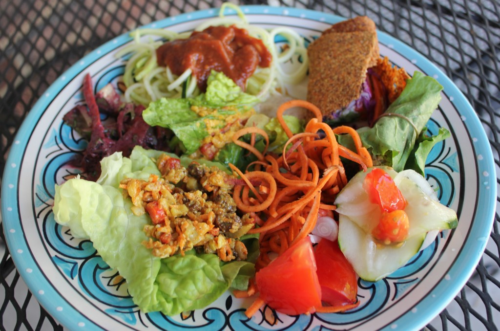 my plate raw foods potluck