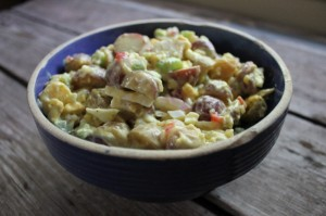 Super Simple Potato Salad (gluten-free, dairy-free, vegan option)