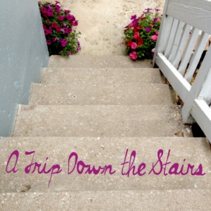 Soften Saturday:  A Trip Down the Stairs