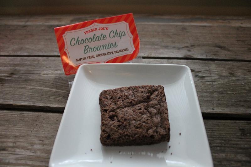 chocolate chip gluten free brownie trader joes