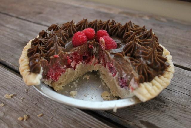 chocoraspanilla pie | In Johnna's Kitchen