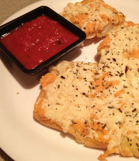 gluten free cheesy bread waldo pizza