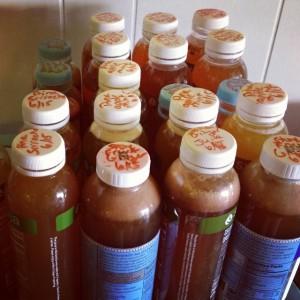 second fermentation bottled