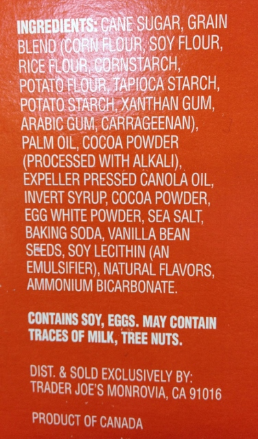 trader joes gluten free joe joes ingredients