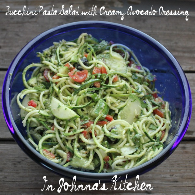 ... cooled pasta pasta salad with zucchini warm warm zucchini salad with