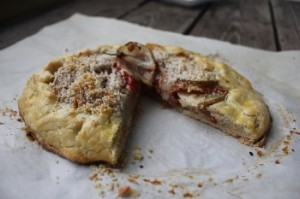 Tomato Potato Galette, gluten-free, dairy-free, vegan option