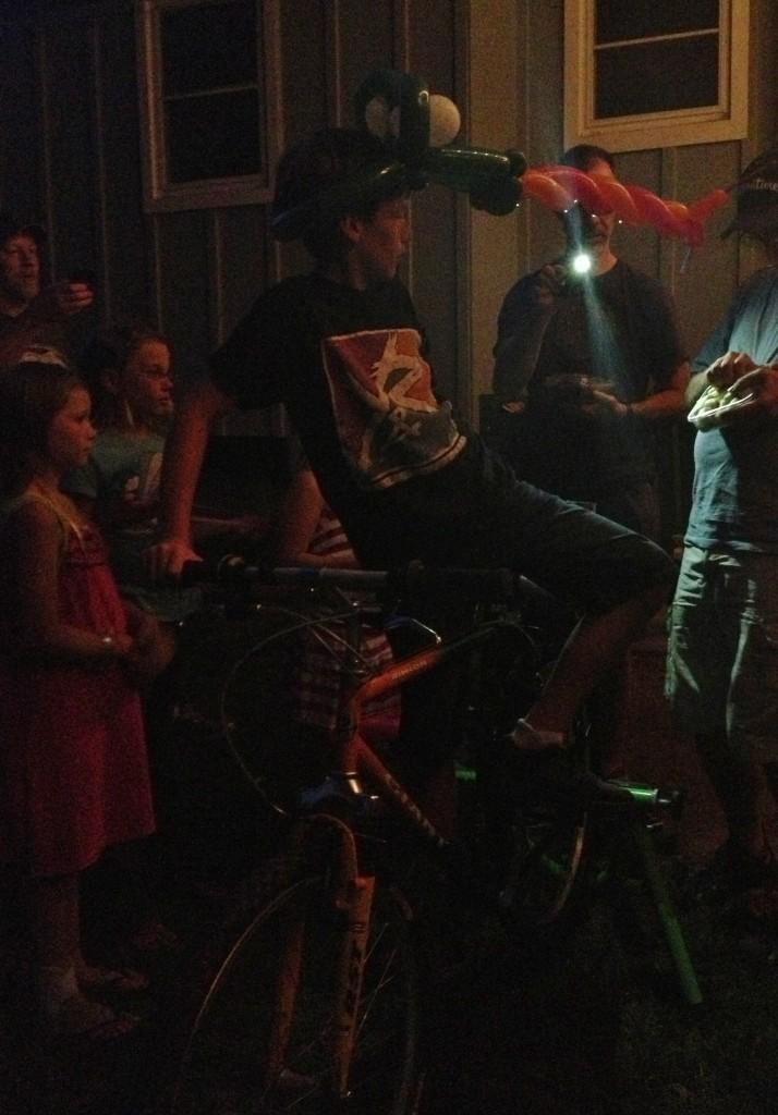 bike blender milkshakes
