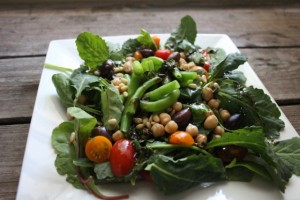 Twelve Months of Healthy Eating: Double Bean Salad
