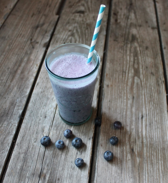 double blueberry shakes calendar in johnnas kitchen