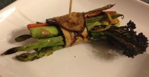 Grilled Zucchini Veggie Bundles