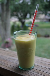 Mango Lassi, dairy-free and vegan