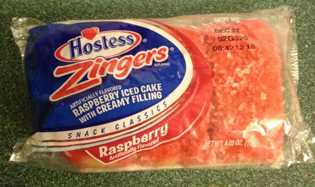 raspberry zingers bought november 27 2012