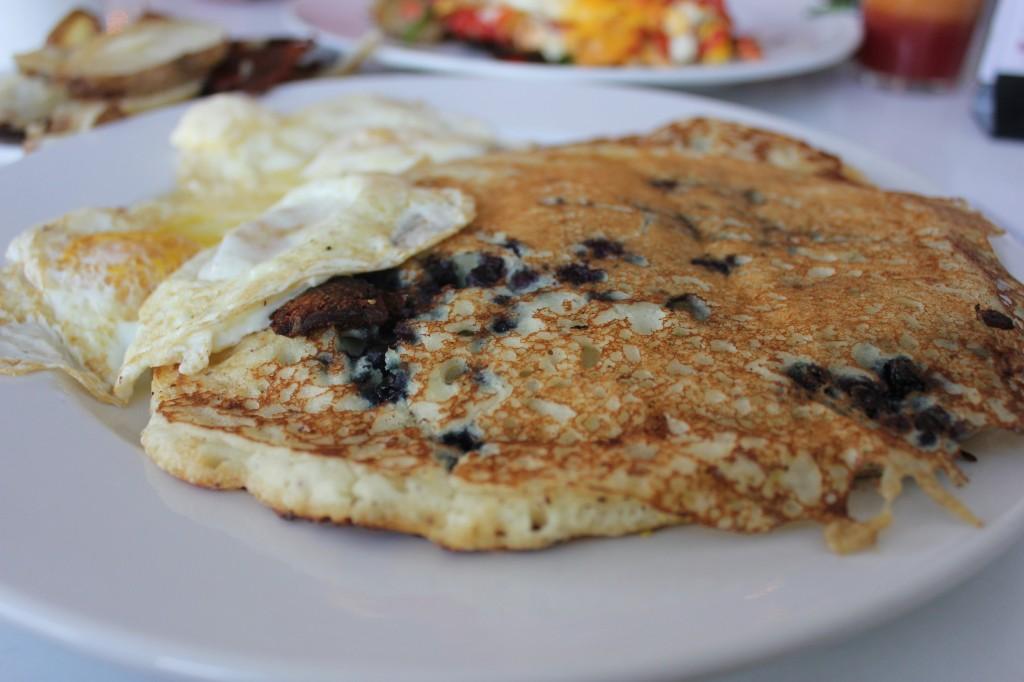 gluten free pancakes at succotash