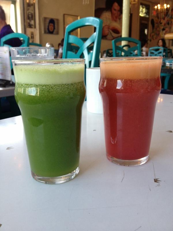 juice at succotash