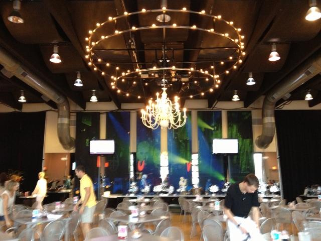 starlight theatre inside seating vip club in johnna's kitchen
