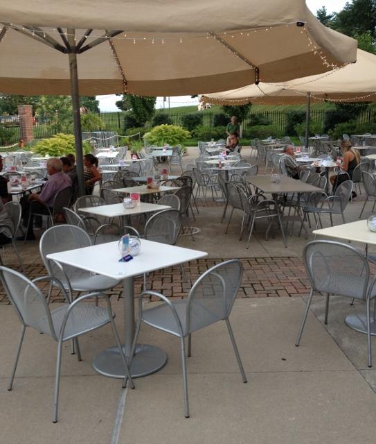 starlight theatre vip club outdoor seating in johnna's kitchen