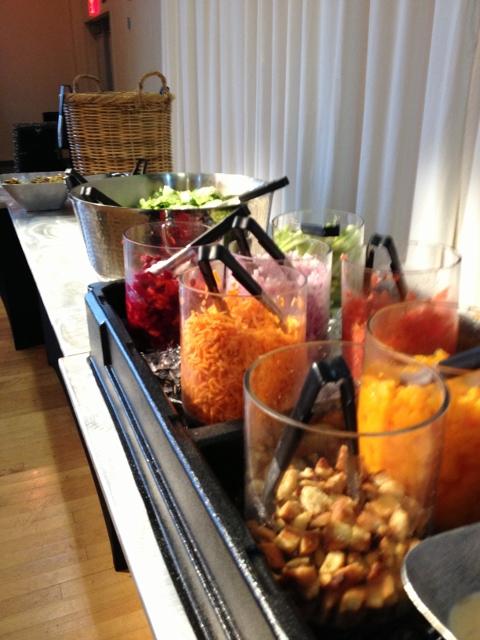 starlight theatre vip club veggie bar in johnna's kitchen