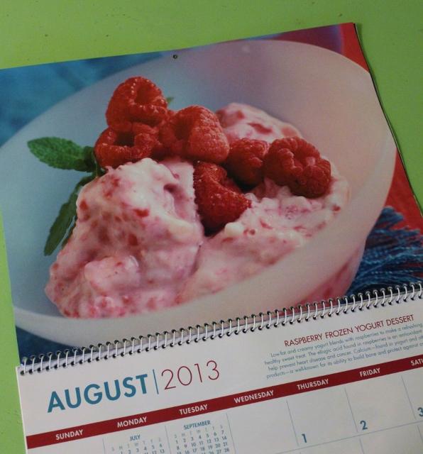 twelve months of healthy eating august